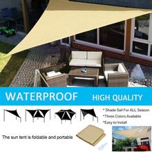 Shade Sail Awning SUN-SHELTER Sunshade-Protection Outdoor Canopy Garden-Patio-Pool Waterproof