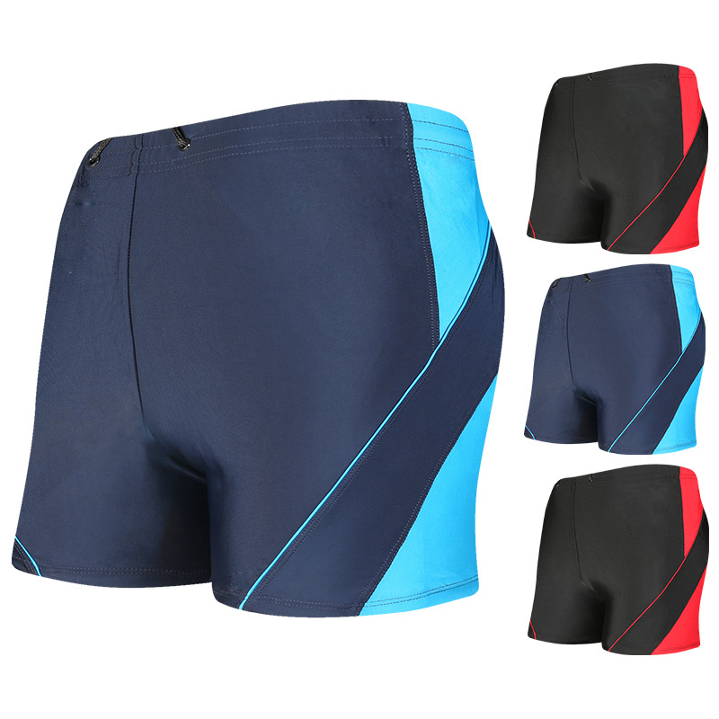 [300 Wearable] Beach Shorts Men's Swimming Trunks Plus-sized Boxer Quick-Dry Swimming Trunks Wholesale YK09923