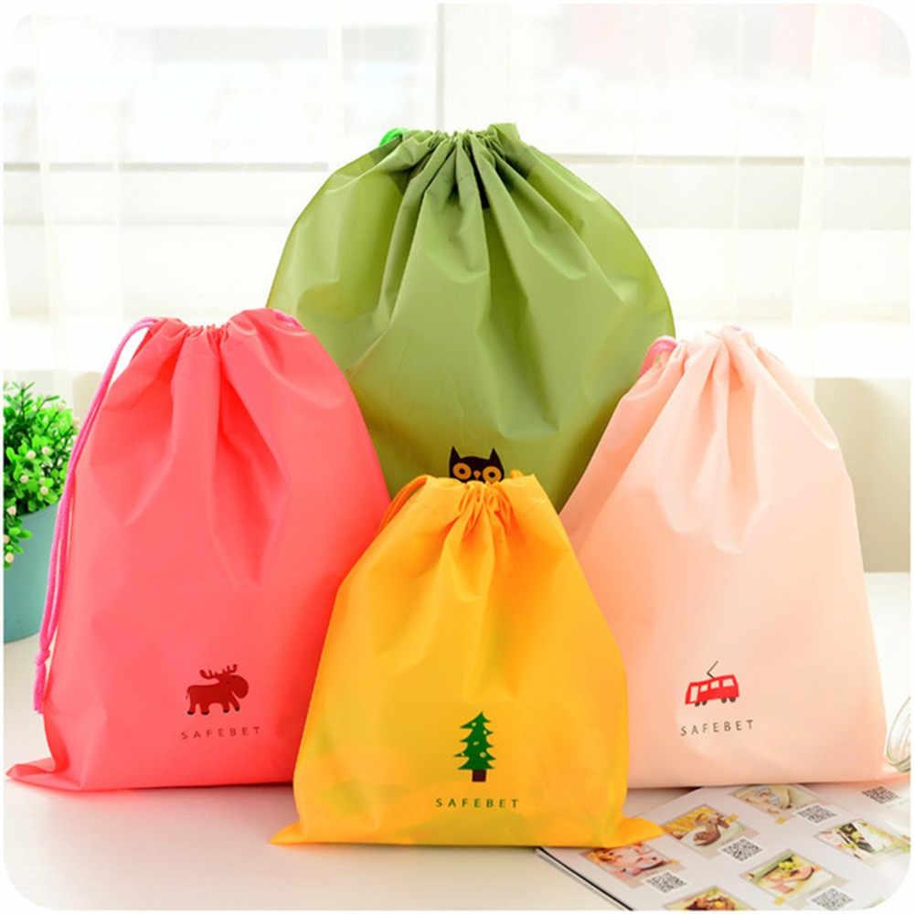 Cute Waterproof Storage Bag Home Travel Wardrobe Clothing Shoes Underwear Draw Pocket Desktop Cosmetic Sundries Organizer Bag