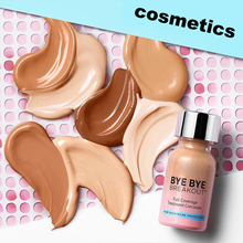 Liquid Eye Concealer Cream for Oily/Acne Prone Skin Full Coverage Treatment Concealer Waterproof Makeup Base Cosmetic Drop-ship