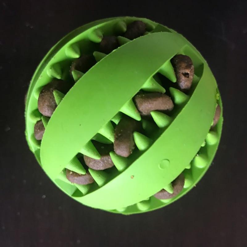 Новинка, игрушки для домашних животных, 5 см, Φ, шар из натуральной резины, мяч для чистки зубов, интерактивные игрушки для жевания кошек и собак-5