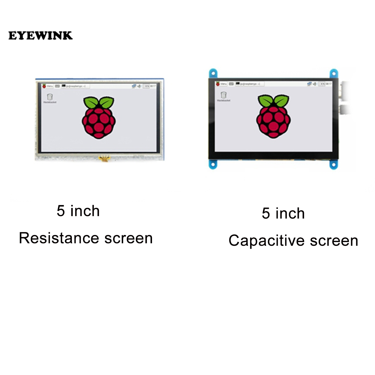 Módulo lcd de 5.0 polegadas pi tft, 5 polegadas resistente tela sensível ao toque 5.0 polegadas lcd módulo de escudo hdmi interface para raspberry pi 3 a +/b +/2b