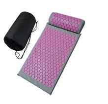 Corpo inteiro alívio da dor almofada acupuntura define acupressão esteira/travesseiro massagem esteira e relaxamento