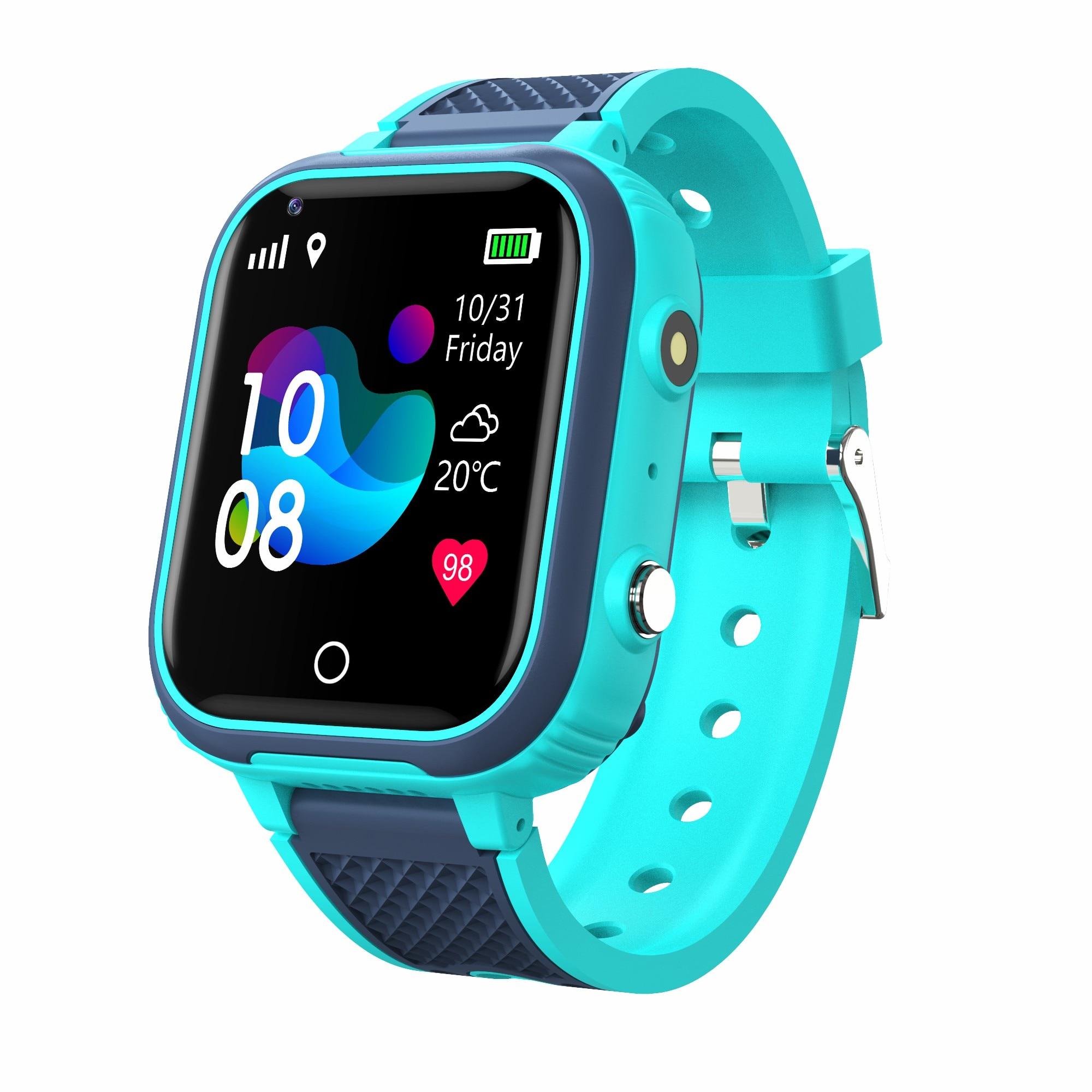 H89ff01cfa7ed410ca443caf5111092702 LT21 4G Smart Watch Kids GPS WIFI Video Call SOS IP67 Waterproof Child Smartwatch Camera Monitor Tracker Location Phone Watch
