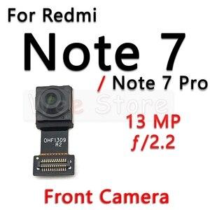 Image 5 - קטן מול & עיקרי גדול חזור אחורי מצלמה להגמיש כבלים עבור Xiaomi Redmi הערה 6 6A 7 7A פרו בתוספת מצלמה להגמיש