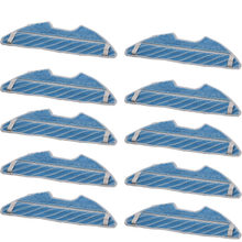 10x New High-Efficiency Cleaning Cloths for Replacement Of Conga 1290 Series 1390 Robot Vacuum Cleaner Parts(China)
