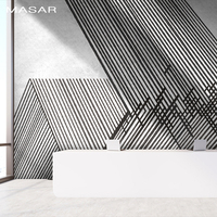 MASAR Line interlacing simple mural bedroom living room kitchen background wall wallpaper waterproof adhesive surface