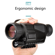 5X40 multi-function digital high-definition infrared night vision goggles, used for hunting long-distance shooting with camera