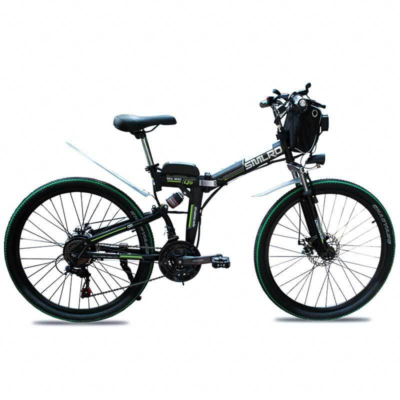MX300 SMLRO 21 speed high quality electric bike/electric bicycle Carbon Steel 350W 48V e bike 4