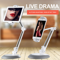 Universele Telefoon Houder Tablet Stand Room Office 360 ° Draaibaar Verstelbare Lazy Bed Desk Voor 4- 10.5 Inch Tabletten beugel