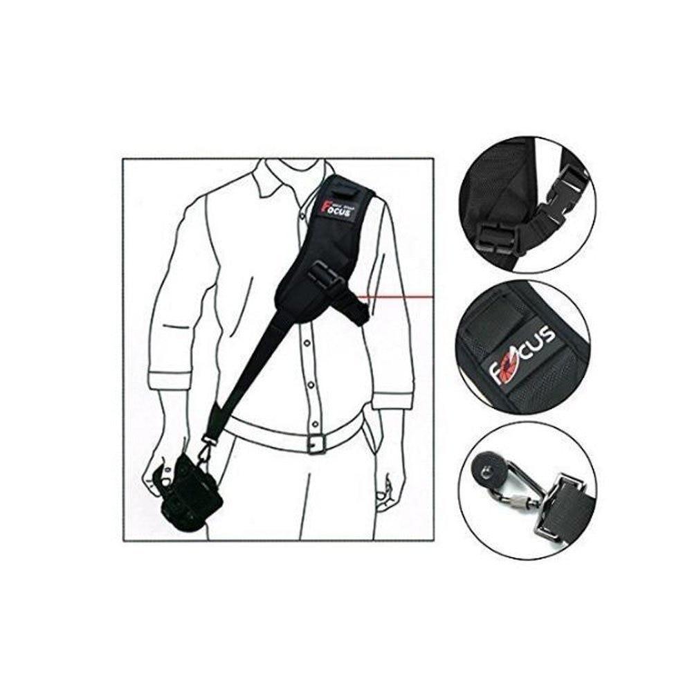 FOCUS Single-lens Reflex Camera F-1 Profession Strap Fast Gunman Fast Photo Hand Suspender Strap F1 Camera Straps Shoulder Suspe
