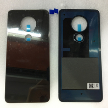 For Nokia 6.2 7.2 New Glass Battery Cover Rear Housing Back Case With Logo 6.2 / 7.2 Replacement Part free shipping d810 new rear back cover plate with button lcd part replacement suitable for nikon