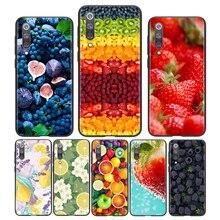 סיליקון כיסוי חם פירות מזון עבור Xiaomi Mi הערה 11i 11 10i 10T 10 9 9T 8 SE לייט פרו Ultra 5G מקרה טלפון פגז