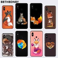 אנימה מצחיק foxs יפה טלפון Xiaomi Redmi 4x5 בתוספת 6A 7 7A 8 mi8 8 לייט 9 הערה 4 5 7 8 פרו