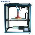 Tronxy X5SA высокоскоростной Flsun 24 в 3d принтер автоматический уровень большой размер предварительная сборка 3d принтер 3d машина с подогревом кров...