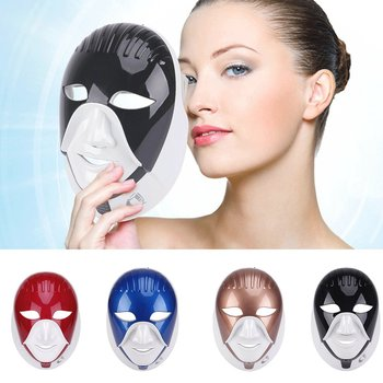 LED Facial Mask Photon Light Energy Therapy Lamp Anti-oxidation Anti-Aging Facial Care Beauty Machine
