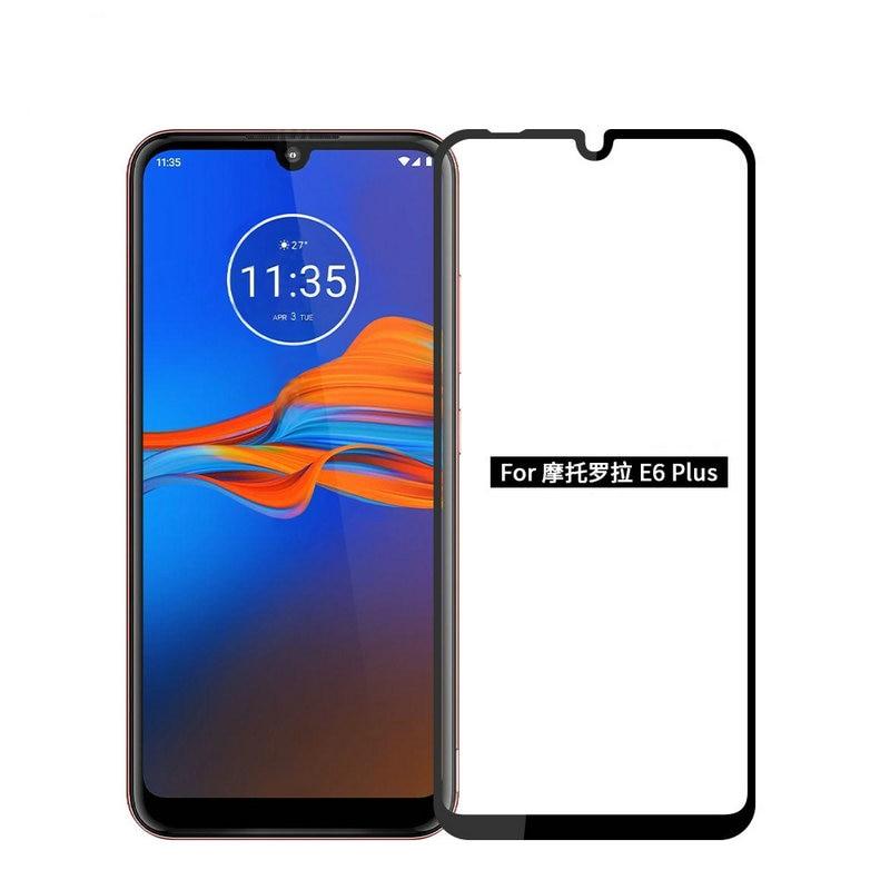 6D Full Glue Cover Tempered Glass Protector for Motorola Moto E6 Plus E6s for Moto E Plus 6th Gen. for Moto E6 Play Glass Film