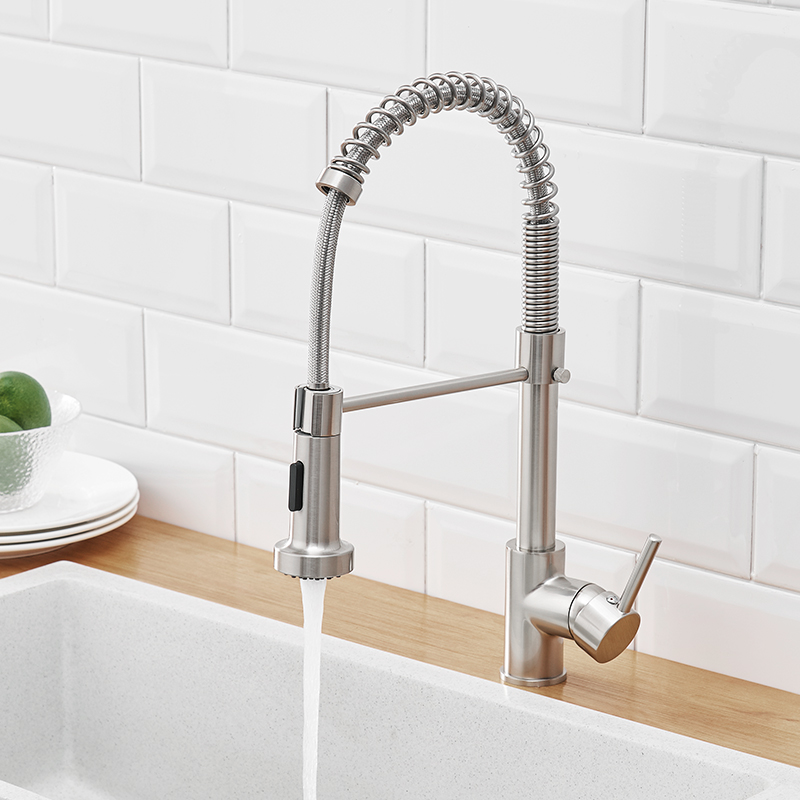 Accipiter Spring Kitchen Sink Faucets Made Of Brass Basin Mixer Tap Hot And Cold Water Taps Crane Torneira