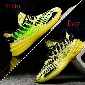 Image 3 - Baskets tendance pour Homme, chaussures de sport Design de marque printemps et automne chaussures décontractées pour adultes