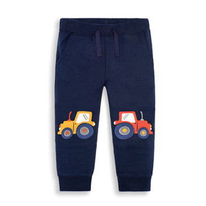 Jumping Meters Children Sweatpants Applique Cars Boys Trousers Pants Autumn Spring Baby Long Pants Fashion Boys Sport Clothing