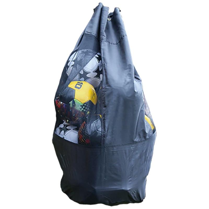 Portable Football Storage Bag Soccer Training Equipment Basketball Ball Game Storage Outdoor Mesh Ball Bag Can Accommodate 15 Fo