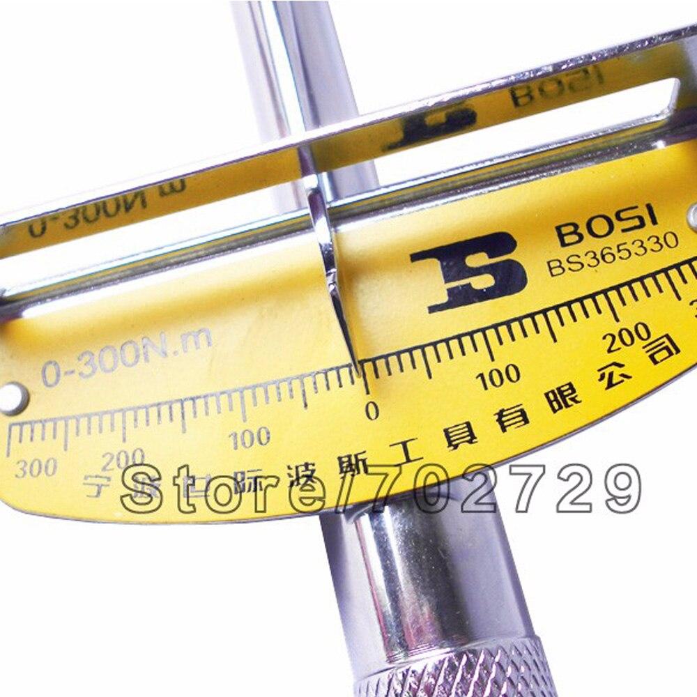 BOSI nagy 1/2 Dr.socket nyomatékkulcs-húzókulcs - Kézi szerszámok - Fénykép 4
