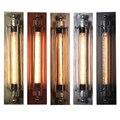 Скандинавские классические регулируемые современные промышленные длинные поворотные ручки черный настенный светильник бра винтажные E27 с...
