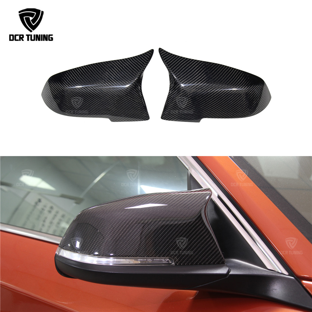 Carbon Fiber Side Mirror Cover For BMW F20//F22//F30//F31//F35 1//2//3//4//X1 Series