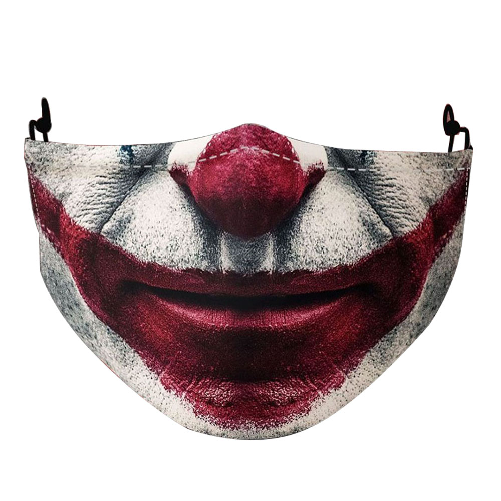 Funny Troll-Joker Masks Women Fashion Adult Mouth Clown Halloween Cosplay Party Reusable Washable Men Face DustProof