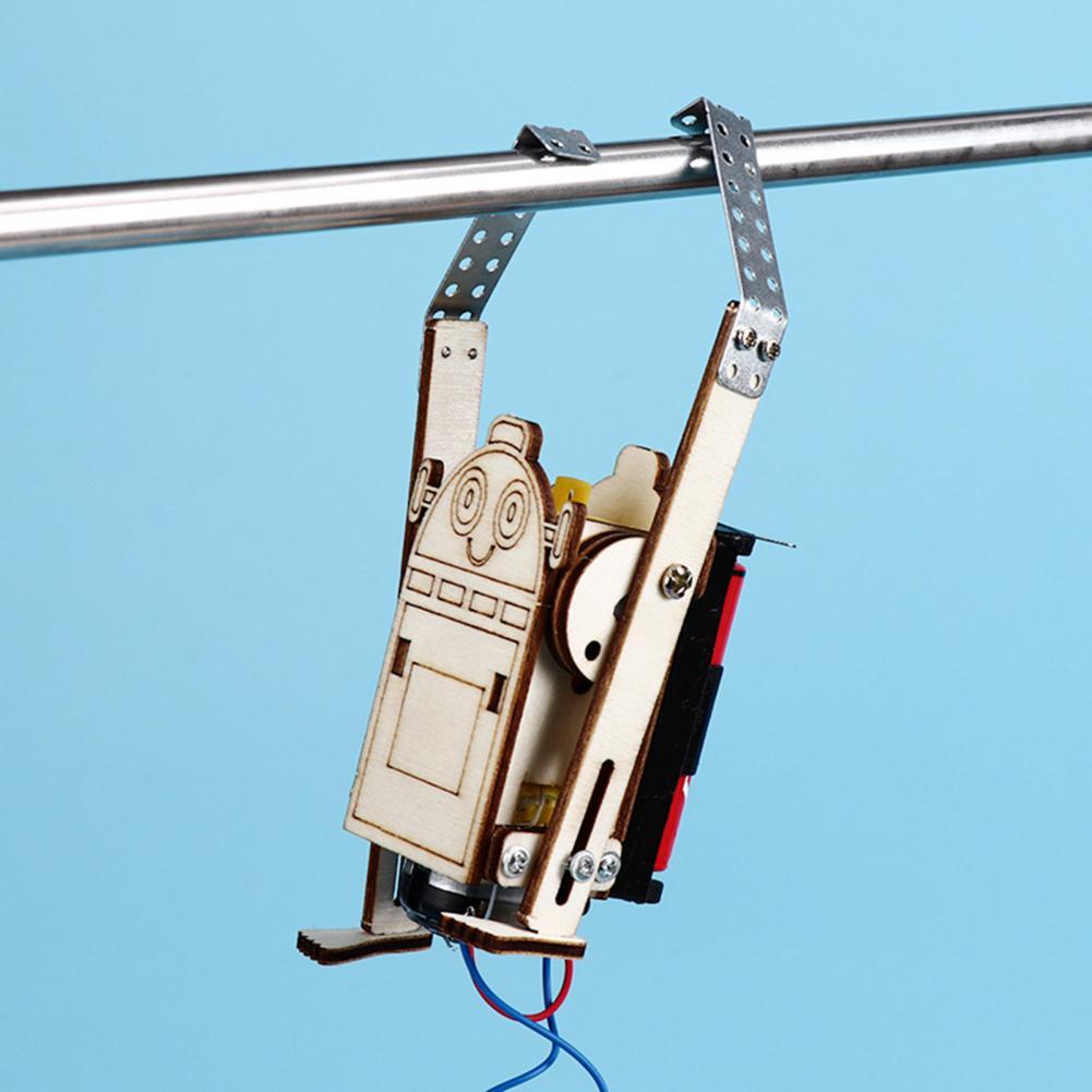 Wooden Rope Climbing Robot 3