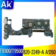 820-2249-A Laptop motherboard for Apple MacBook Pro A1260 original mainboard T9300/T9500