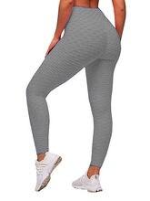 Legging taille haute pour femme, pantalon, grande mesure, fitness, push up, anti cellulite, exercices, course, XS-3XL