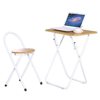 A Simple Household Portable Foldable Dining Table, Long Table, Writing Table, Small Household Square Table, Computer Table, Fold