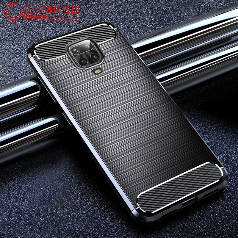 For Xiaomi Redmi Note 9S Case Shockproof TPU Carbon Fiber Cover For Xiaomi Mi 10 Pro Funda For Redmi Note 9 8 8T K30 Pro Case