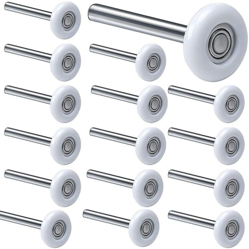 12Pack 2 Inches Garage Door Rollers, 6200ZZ Bearing Nylon Garage Door Roller,for Residential and Commercial Garage Doors