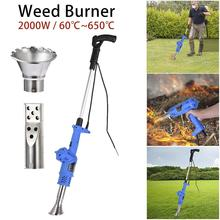 3-in-1 Function Weeder No Gas and Chemical Weed Burner 2000W Garden Tools with 1.8M Cable 5 Nozzles