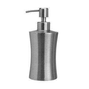 Image 1 - מטבח לדחוף סוג עמיד בית מקלחת ג ל משאבת בקבוק משרד סבון Dispenser נירוסטה נוזל מלון קרם