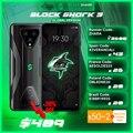 Promo Code ZHARA Глобальная версия черного цвета с изображением акулы 3 8 ГБ 128 Snapdragon 865 5G для телефона с мотивами игр Octa Core 64MP тройной AI камерами 65 Вт ...