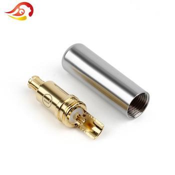 QYFANG 1 Pair Cuffia MMCX Spina Di Rame Al Berillio Spille A2DC Martinetti Per Audio-technica ATH ESW750 770H 990H ADX5000 MSR7B Auricolare