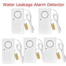 Home Alarm Water Leakage Spot Alarm Detector Independent Water Leak Sensor Detection Flood Alert Overflow Security Alarm System