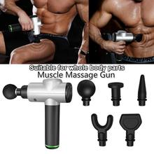 Muscle Massage Gun Deep Tissue Massager Therapy Gun Exercising Muscle Pain Relief Body Shaping 1800-3200r/min Dropshipping 2019