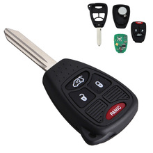 315MHZ 3 Buttons Uncut Remote Head Vehicle Auto Key Keyless Entry Combo Transmitter Fob for Chrysler / Dodge Jeep 2005-2012