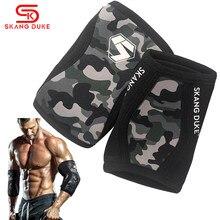 Skangduke 1 par 7mm elbow pads halteres crossfit ginásio pesos musculação levantamento de peso cotovelo cinta apoio treinamento de fitness