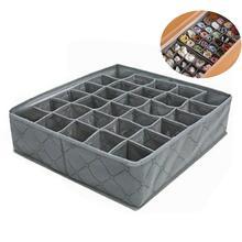 30 ячеек креативный складной ящик для хранения разделитель органайзер для нижнего белья ящик для хранения Контейнер Шкаф буфет Домашний Органайзер