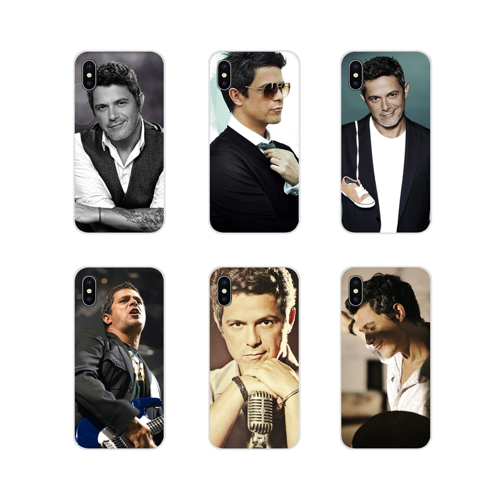 For Apple iPhone X XR XS 11Pro MAX 4S 5S 5C SE 6S 7 8 Plus ipod touch 5 6 Alejandro Sanz Accessories Phone Cases Covers