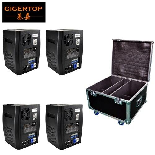 Gigertop TP-T600W électronique étape froid sparkulaire Machine DMX contrôle sans fil à distance en option tenir 200g titane poudre