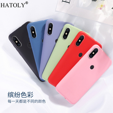 For Xiaomi Mi CC9e Case Cover for Phone Soft Rubber Shell Protective Liquid Silicone