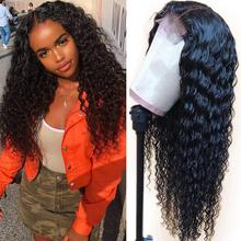 Głębokie koronkowa fala przodu włosów ludzkich peruk 150% gęstości Cynosure peruki z włosów typu Remy dla kobiet mongolski 13*4 głębokie koronkowa fala peruki typu Lace Front