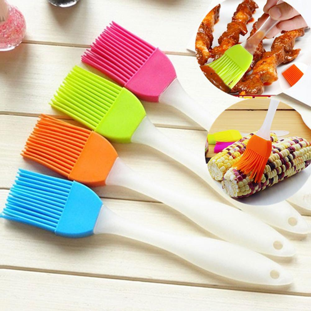 Silicone Baking BBQ Cake Pastry Bread Bakeware Oil Roast Cream Cooking Utensil Basting Brush Kitchen Dining Bar BBQ Tool