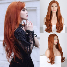 Charisma Long Wavy Wigs for Women Free Part Synthetic Lace F
